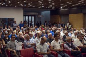 Si è svolta a Cagliari un'affollata assemblea coordinata da Lucetta Milani e Tore Cherchi, sui temi dell'europeismo e del federalismo.
