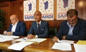 """Il Partito dei Sardi ha presentato oggi la proposta di legge """"Testo Unico della normativa in materia di sport""""."""