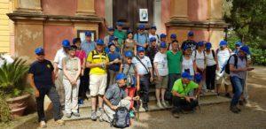 20 rappresentanti del Gremio dei sardi di Roma, della FASI e del Circolo dei sardi di Madrid, hanno percorso ieri mattina una breve tappa del Cammino Minerario di Santa Barbara.