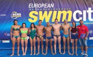 Otto nuotatori cagliaritani hanno vinto la European Swim City 2018.