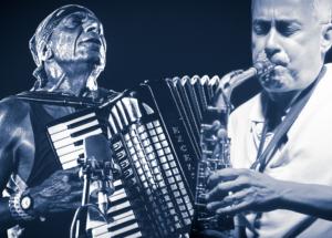 """Antonello Salis in duo con Sandro Satta e Massimo Ferra in trio con Massimo Tore e Roberto Migoni domani per la seconda giornata del festival """"Seui in musica""""."""