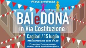 E' stata presentata questa mattina, nella sede regionale dell'Avis di via Talete, a Cagliari, l'iniziativa Bai e dona in via Costituzione.