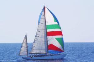 Arriva a Spalato la nave scuola Caroly, seconda tappa della campagna d'istruzione per qli aspiranti guardiamarina del corso Ateires.