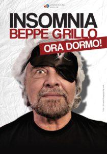 """Tappa a Cagliari, questo sabato (14 luglio), per il tour di Beppe Grillo, con il suo spettacolo """"Insomnia""""."""