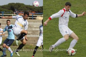 Il Carbonia Calcio pensa in grande, definiti gli acquisti del bomber Christian Cacciuto e del centrale difensivo Fabiano Todde.