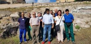 E' stato aperto stamane il primo cantiere del progetto Parco Geominerario con i lavoratori assunti dalla Fondazione Cammino Minerario di Santa Barbara.