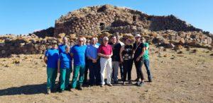 E' stato inaugurato questa mattina il cantiere archeologico di Seruci.