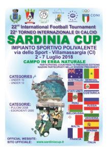 Si è concluso il 21° Torneo Intercontinentale di calcio giovanile Sardinia Cup, disputato nell'impianto sportivo polivalente di Villamassargia.