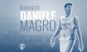 La Dinamo ha definito il tesseramento di Daniele Magro, centro di 208 cm per 105 kg, ex Pistoia.