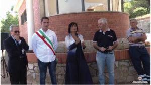 Si è svolta questa mattina, a Iglesias, la cerimonia del taglio del nastro per il restauro della pensilina di San Giovanni in Miniera.