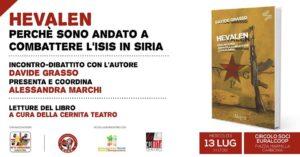 Due iniziative culturali venerdì 13 e sabato 14 luglio al Circolo Soci Euralcoop, a Carbonia.