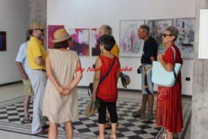 """E' stata inaugurata sabato 21 luglio, a Sant'Antioco, la collettiva di pittura """"Libera (la) mente""""."""