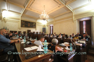 Si è insediato questa sera, nella sala consiliare di Piazza Municipio, il nuovo Consiglio comunale di Iglesias.