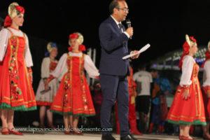 """Sabato 13 luglio l'anfiteatro di Piazza Marmilla, a Carbonia, ospiterà la 33ª edizione di """"Sciampitta in Tour"""", festival internazionale del folklore."""