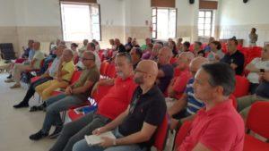 """Si è tenuta ieri, nell'Aula Magna dell'Istituto Minerario di Iglesias, la prima riunione della campagna """"IL CAMMINO INCONTRA GLI OPERATORI""""."""