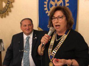 Il dirigente scolastico Maria Antonietta Cuccheddu è il nuovo presidente del Rotary Club di Carbonia.