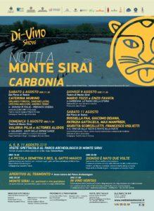 """Mercoledì mattina, nella sala riunioni della Torre civica, a Carbonia, verrà presentata la rassegna """"Notti a Monte Sirai""""."""