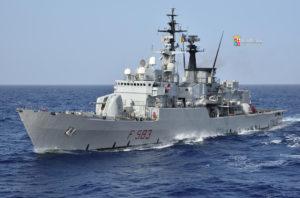 Le navi Euro, Aviere e Driade della Marina Militare hanno concluso il loro servizio operativo.