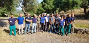Momenti di grande commozione hanno accompagnato questa mattina la riapertura del cantiere archeologico di Pani Loriga, nel comune di Santadi.