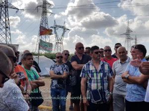 Una delegazione dei lavoratori ex Alcoa incontra il presidente della Giunta regionale, Francesco Pigliaru.
