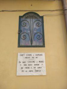 Il culto dei santi guaritori Cosma e Damiano fra Mamoiada e Riposto (Sicilia).