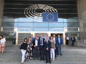 Una delegazione di sindaci sardi a Bruxelles per parlare di Politiche e Opportunità comunitarie.