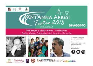 """Si terrà il 5 e il 6 agosto l'edizione 2018 di Sant'Anna Arresi Teatro – """"Dell'amore e di altre storie"""", il Festival organizzato dalla compagnia """"La Cernita Teatro""""."""