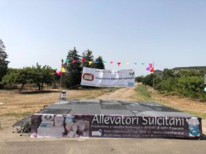 """E' ormai tutto pronto per """"Sapori di casa"""", l'evento enogastronomico che si svolgerà domani, 14 luglio, sul piazzale della Cooperativa Allevatori Sulcitani."""