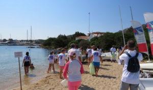 Si è svolto ieri sulla Spiaggia del Giglio il secondo appuntamento di pulizia delle spiagge YCCS Clean Beach Day.