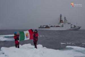 La nave Alliance della Marina Militare rientra al termine delle campagne Idro – Oceanografiche 2018.