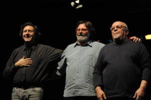 Ellade Bandini, Giorgio Cordini e Mario Arcari in concerto sabato 4 agosto al Teatro Civico di Castello, a Cagliari.