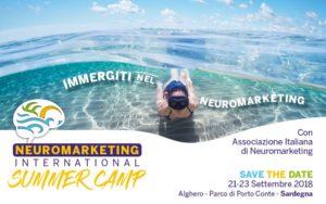 Ad Alghero, dal 21 al 23 settembre, il primo laboratorio sul neuromarketing dove si apprende come mettere il cervello umano al centro dei progetti di marketing aziendali.