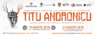 Titu Andronicu, l'adattamento dell'opera giovanile di Shakespeare arriva a Nuoro e ad Alghero il 19 ed il 21 agosto.