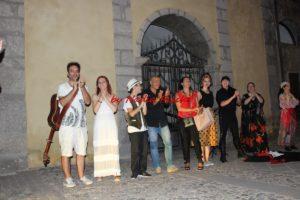 """Dal 1 al 5 agosto Santu Lussurgiu ha ospitato il festival """"Percorsi teatrali"""", cinque giornate ricche di iniziative, seminari e stage di mattina e spettacoli di sera."""