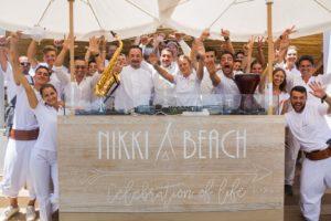 Settimana di Ferragosto scoppiettante al Nikki Beach Costa Smeralda.