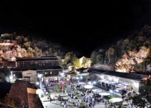 """L'esclusiva cornice della Miniera di Rosas, sabato 25 agosto ospiterà la quarta edizione di """"Rosso in Miniera""""."""