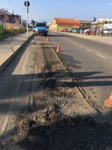Da stamane gli operai della So.Mi.Ca. sono al lavoro per riparare le buche stradali attualmente presenti nelle principali strade di Carbonia.