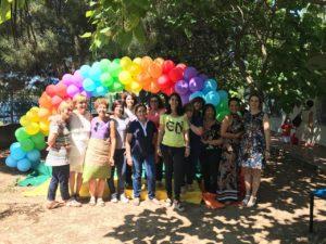 """22 bambini di Carbonia ieri mattina hanno ricevuto i diplomi di frequenza dell'Asilo Nido Comunale """"I Colori dell'Arcobaleno""""."""