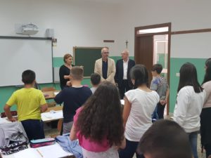 Per la prima campanella dell'anno scolastico 2018/2019 l'assessore Giuseppe Dessena ha scelto di portare un saluto nelle scuole di Sorgono, Aritzo e Gadoni.