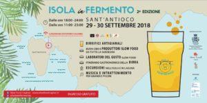 """Oggi e domani, a Sant'Antioco, la seconda edizione di """"Isola in Fermento""""."""
