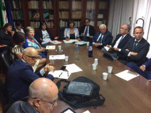 Si è svolto questo pomeriggio, nella sede dell'assessorato dell'Industria, a Cagliari, un incontro sul futuro dell'Eurallumina.