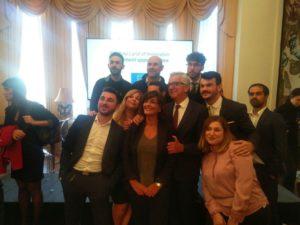 """Il governatore Pigliaru e l'assessore dell'Industria Piras, hanno partecipato, a Londra, all'iniziativa """"Sardinia Land of Innovation""""."""