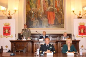 """Ha preso il via stamane, presso l'Aula Magna dell'Università di Sassari, il nuovo ciclo di conferenze storico-culturali promosso dal Comando Militare Esercito Sardegna denominato """"TRINCEE PROFONDE DEL 900""""."""