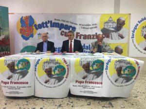 Il 30 novembre 700 volontari sardi verranno ricevuti in Vaticano, in udienza speciale, da Papa Francesco.