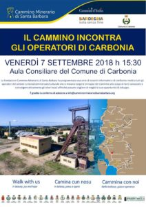 Venerdì pomeriggio, nella sala polifunzionale del comune di Carbonia, la Fondazione Cammino Minerario di Santa Barbara incontrerà gli operatori.