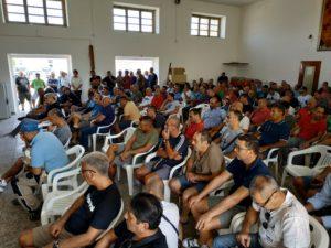 L'accordo sulle assunzioni stipulato con la Sider Alloys è stato esaminato dall'assemblea dei lavoratori ex Alcoa, svoltasi stamane a Carbonia.