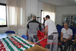 I 12 lavoratori dipendenti di un'impresa privata che svolge servizi di manutenzione negli ospedali di Carbonia e Iglesias, rimasti senza lavoro, hanno occupato la sala riunioni della ASSL di Carbonia.