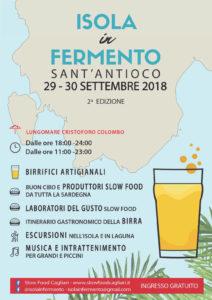 """Il 29 e 30 settembre, a Sant'Antioco, ritorna l'evento """"Isola in Fermento""""."""