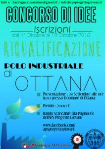 """E' stato presentato sabato 29 settembre, a Ottana, il """"Concorso di Idee per la Riqualificazione del Polo Industriale di Ottana""""."""