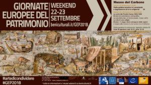Il Museo del Carbone aderisce alle Giornate Europee del Patrimonio.